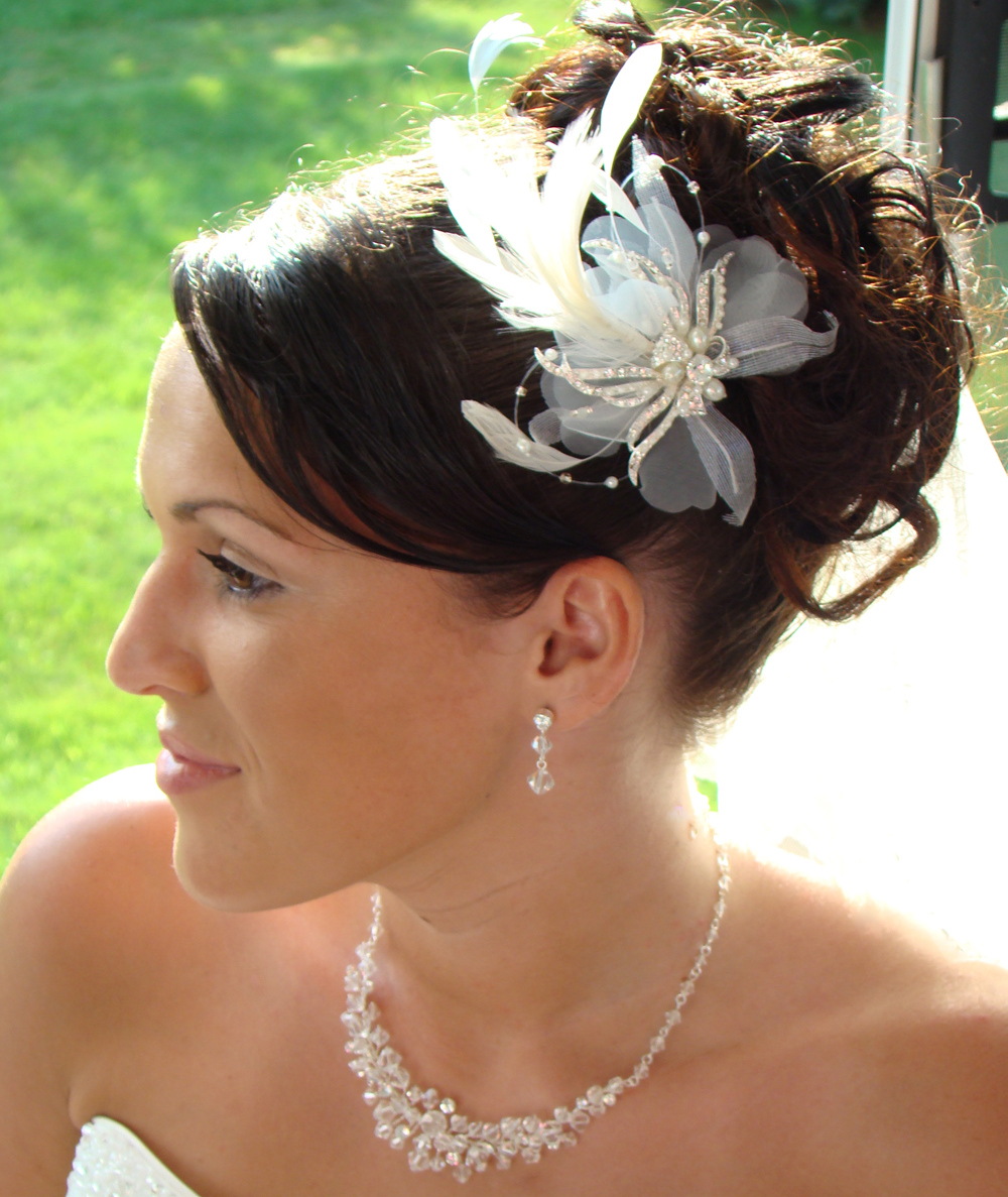Hair Updos For Weddings For Long Hiar With Veil Half Up